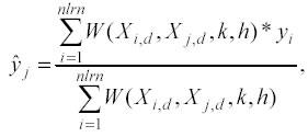 NadarayaWatson smoothing  MathWorks